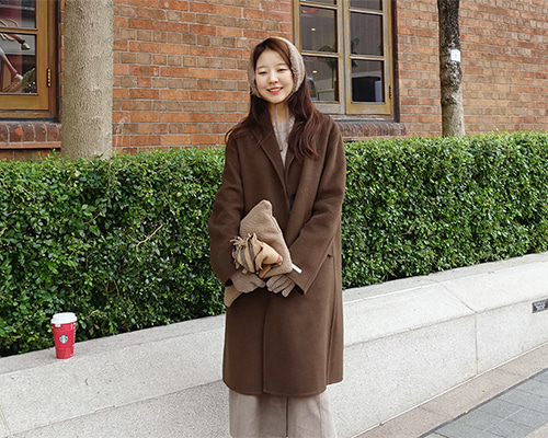 allure brown HM coat 재입고