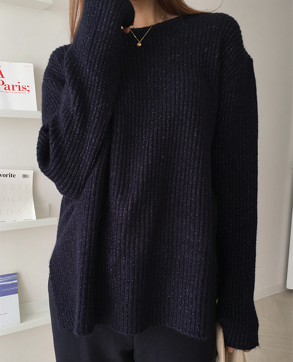 navy good knit