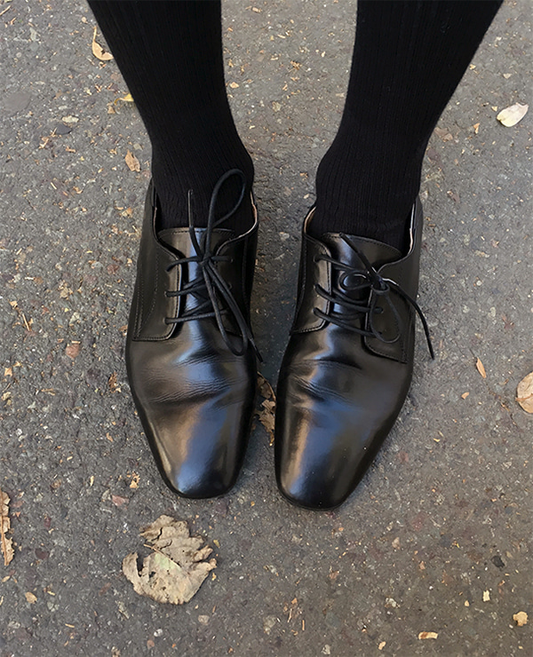 perfect lace-up shoes