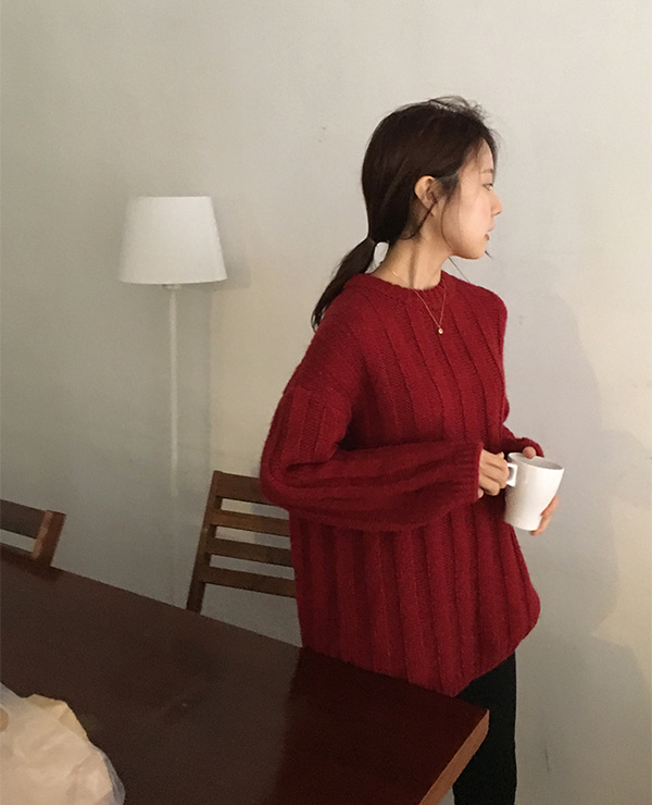 red moon knit