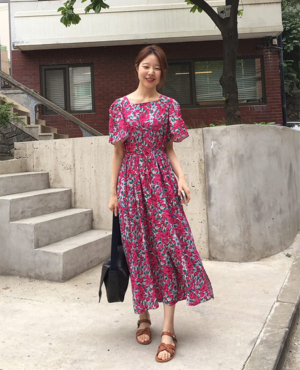weekly flower dress